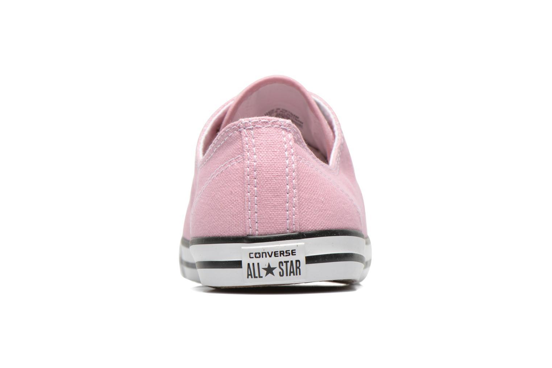 Sneaker Converse All Star Dainty Canvas Ox W rosa ansicht von rechts