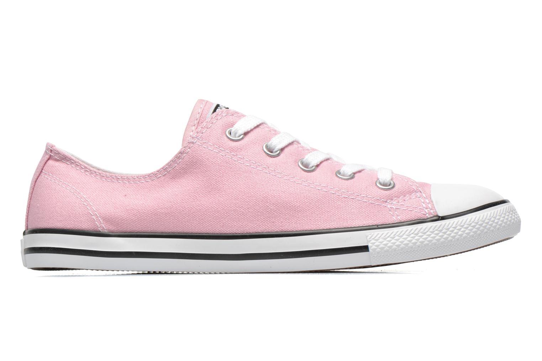 Sneaker Converse All Star Dainty Canvas Ox W rosa ansicht von hinten