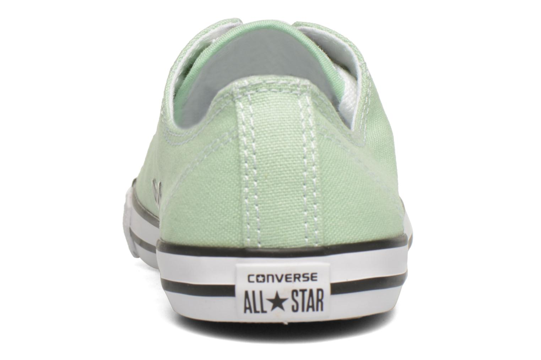 Sneakers Converse All Star Dainty Canvas Ox W Grön Bild från höger sidan