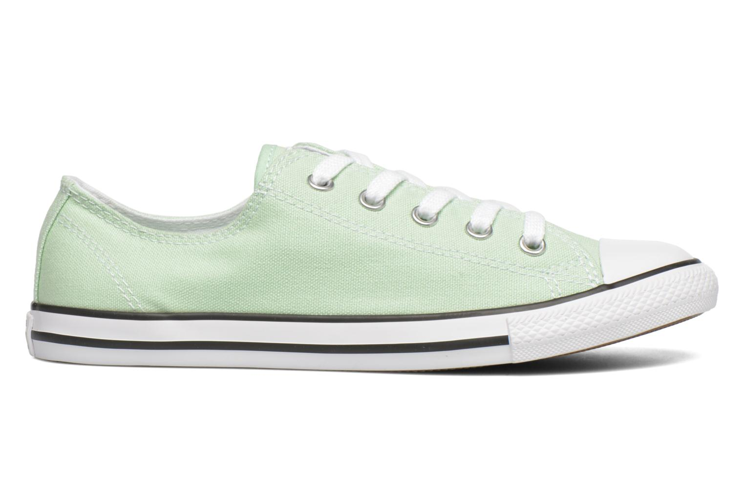 Trainers Converse All Star Dainty Canvas Ox W Green back view