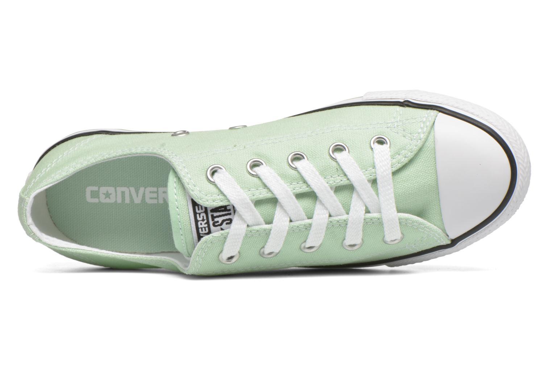 Sneakers Converse All Star Dainty Canvas Ox W Grön bild från vänster sidan