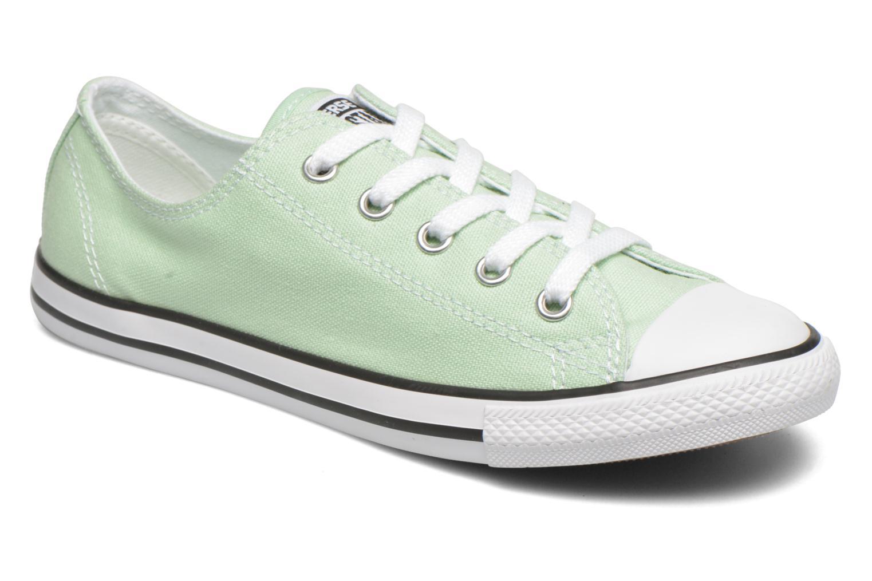 Sneakers Converse All Star Dainty Canvas Ox W Grön detaljerad bild på paret