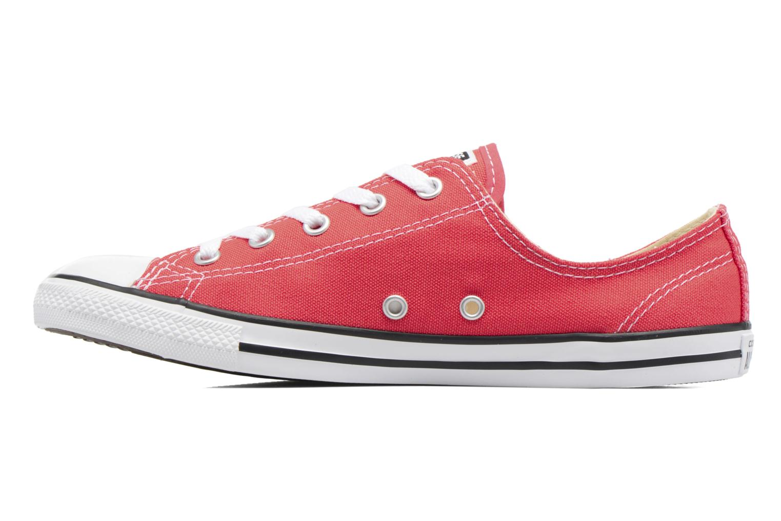 Trainers Converse All Star Dainty Canvas Ox W Red front view