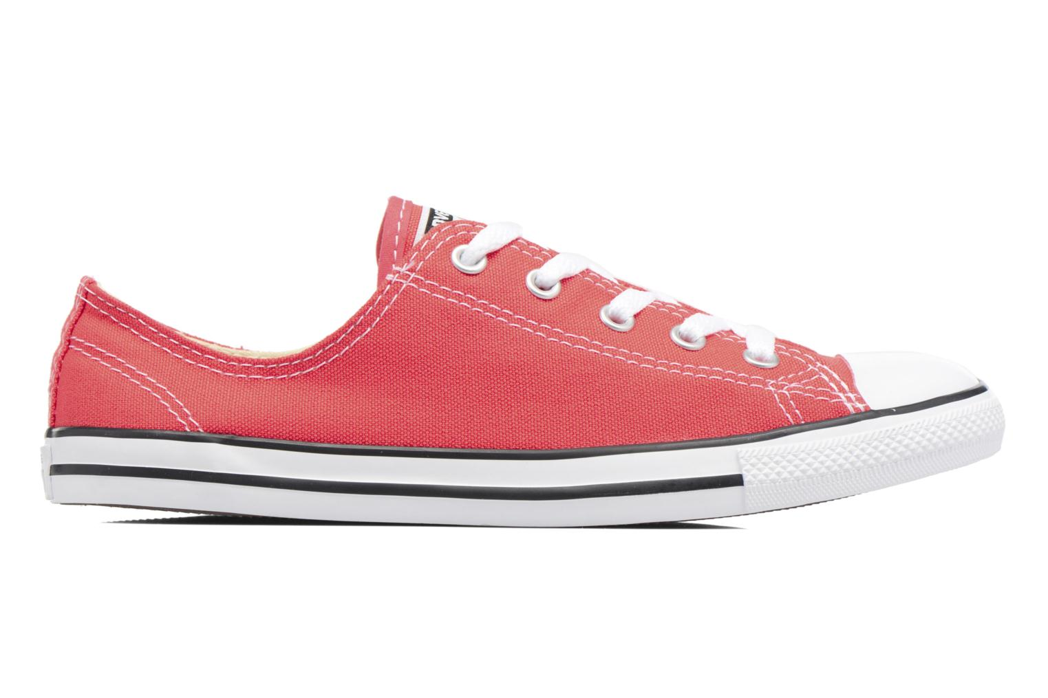 Trainers Converse All Star Dainty Canvas Ox W Red back view