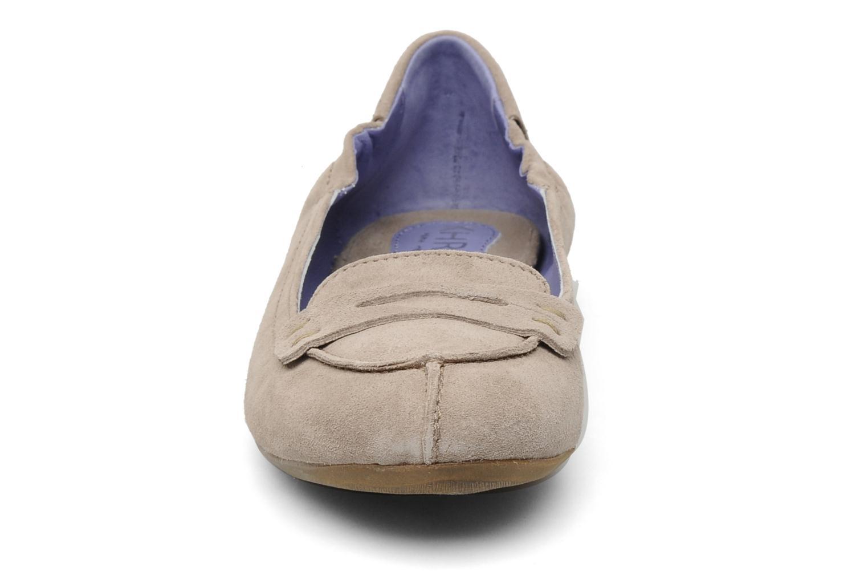 Mocassins Khrio Jaoul Beige vue portées chaussures
