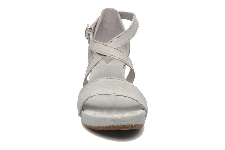 Sandalen Khrio Carlota grau schuhe getragen