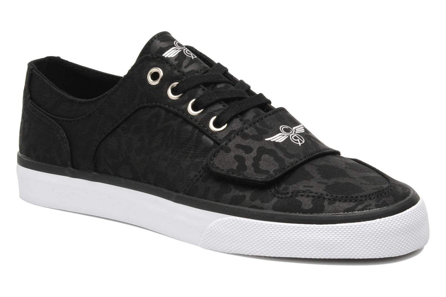 Cesario Lo XVI Canvas Black Cheetah