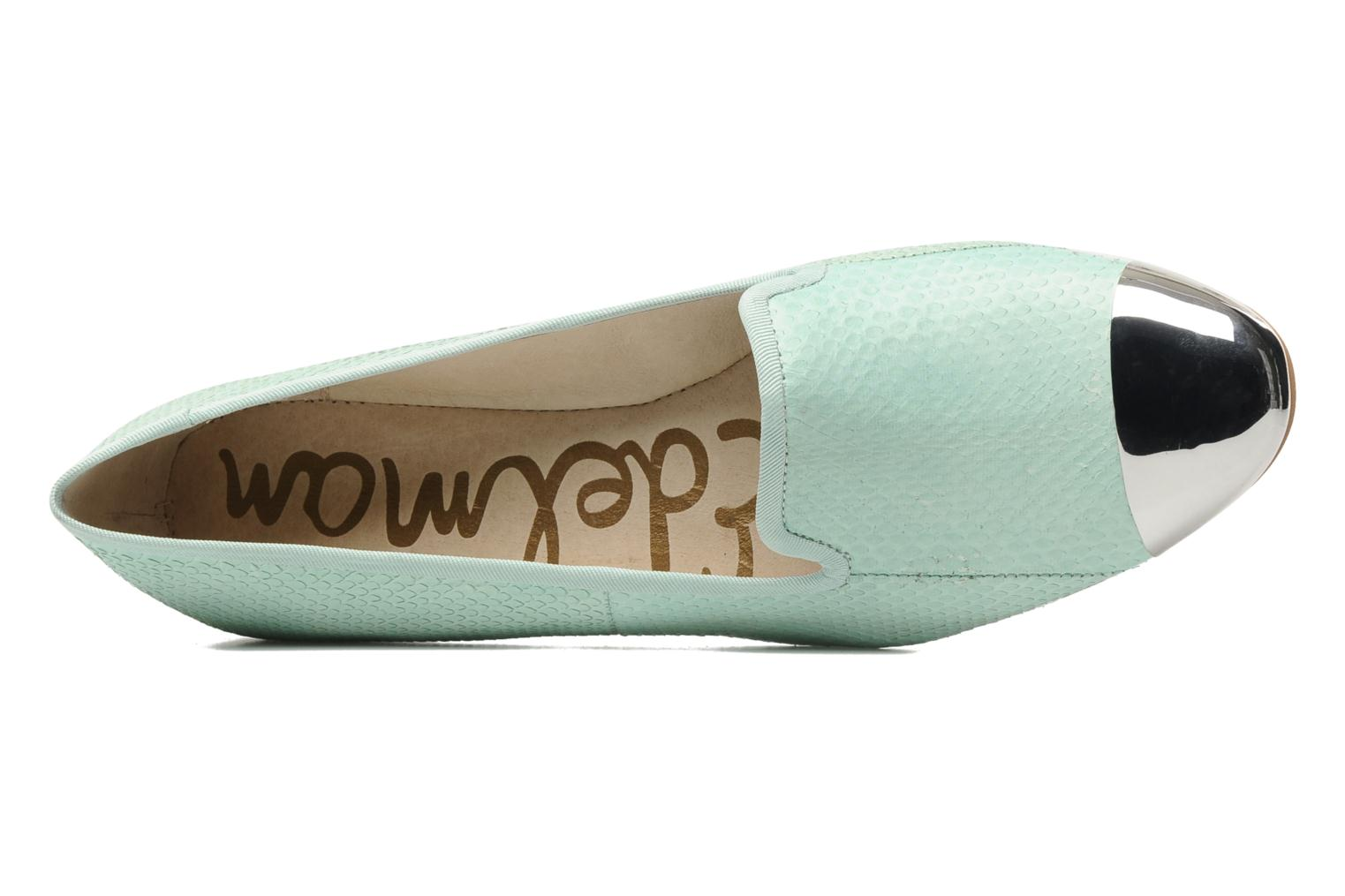 Loafers Sam Edelman Aster Green view from the left