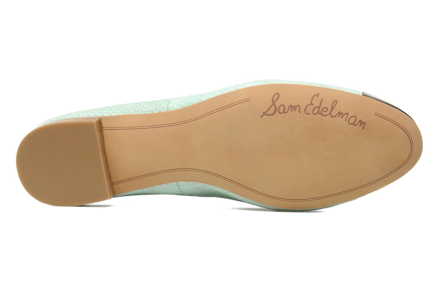 Loafers Sam Edelman Aster Green view from above