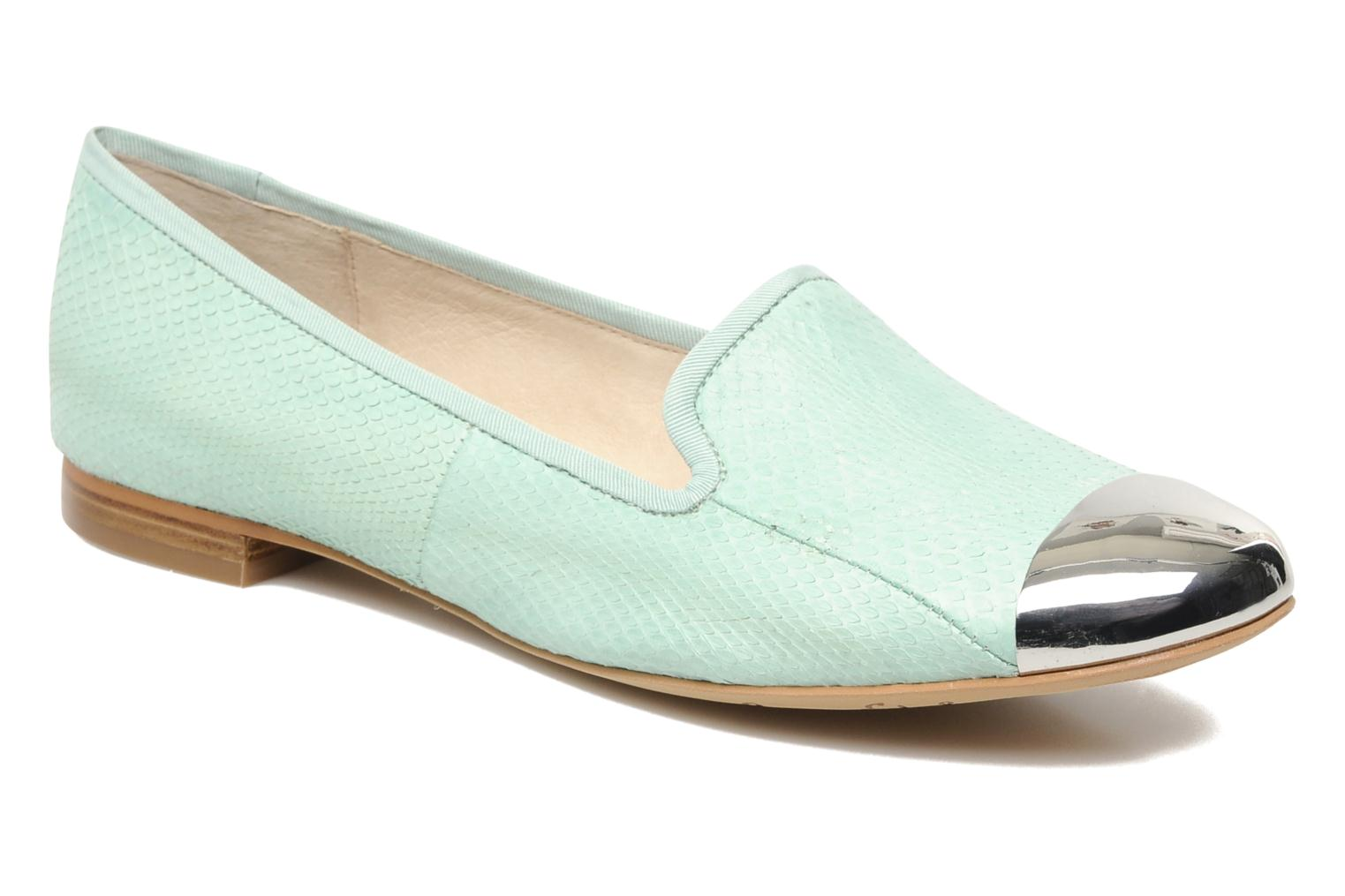 Loafers Sam Edelman Aster Green detailed view/ Pair view