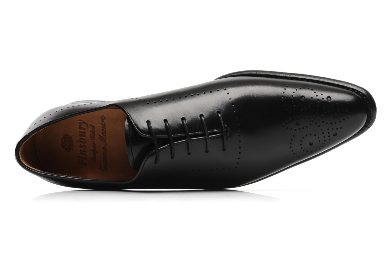 Chaussures à lacets Finsbury Schubert Noir vue gauche