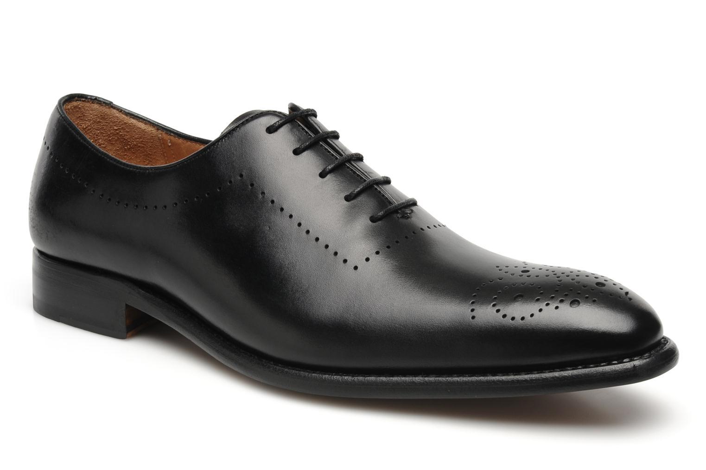 Chaussures à lacets Finsbury Schubert Noir vue détail/paire