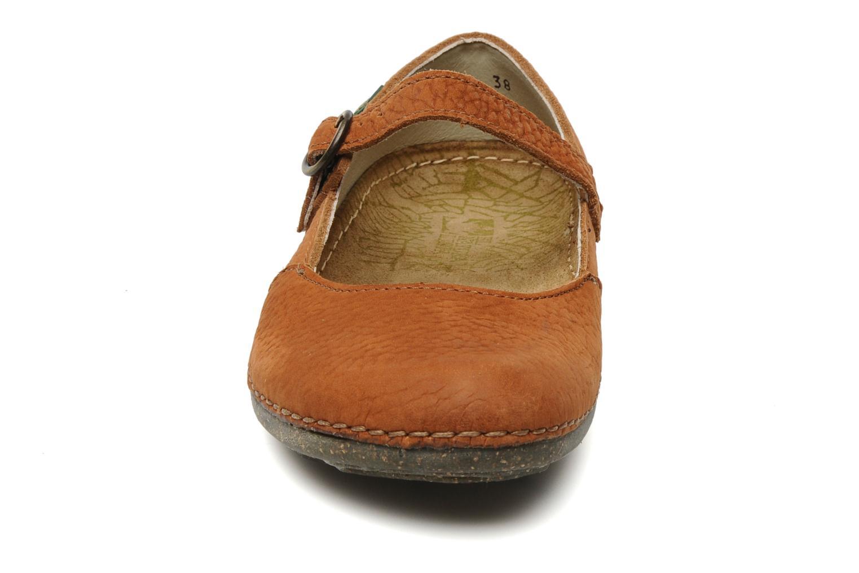 Ballerines El Naturalista Torcal n°301 Orange vue portées chaussures