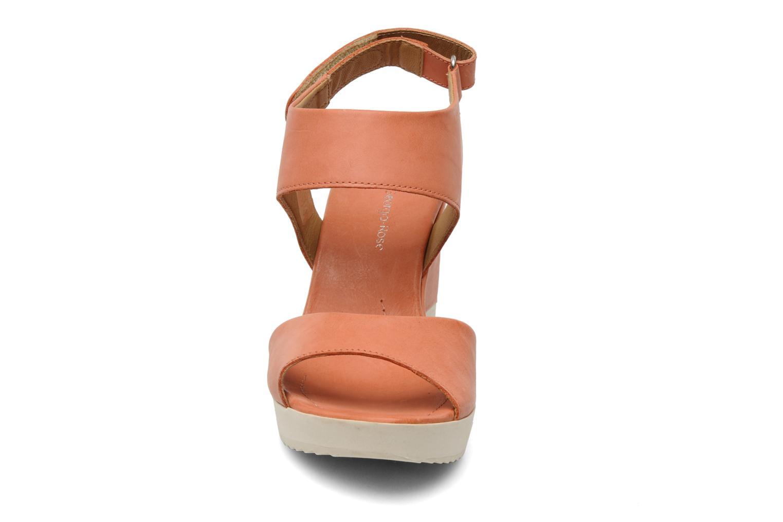 Sandalen Georgia Rose Gielicia orange schuhe getragen