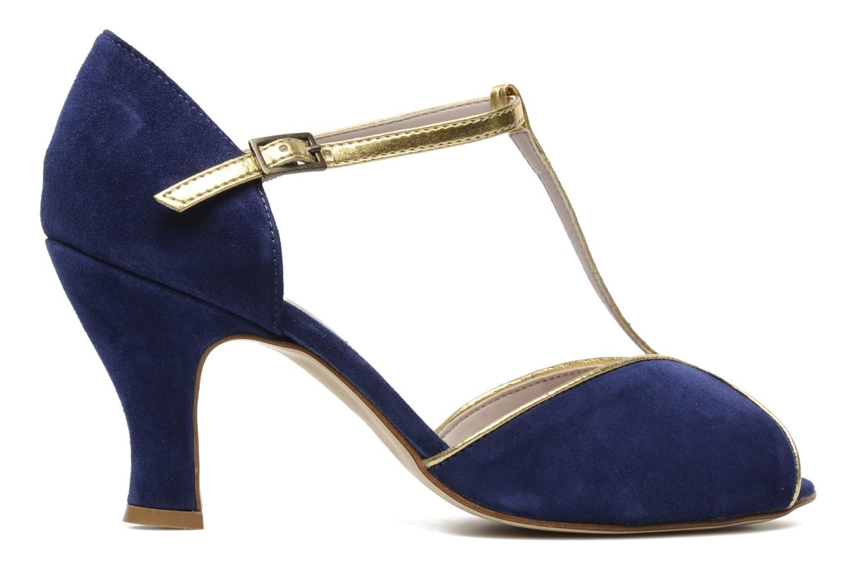 High heels Georgia Rose Gitango Blue back view