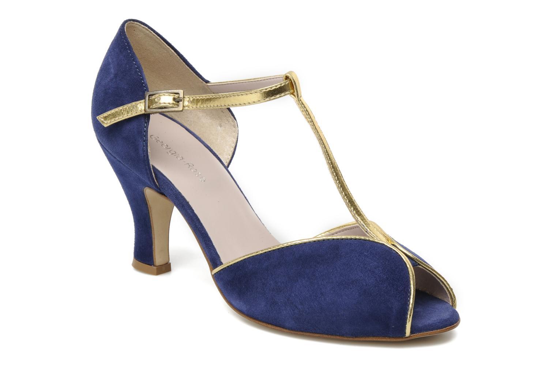 High heels Georgia Rose Gitango Blue detailed view/ Pair view