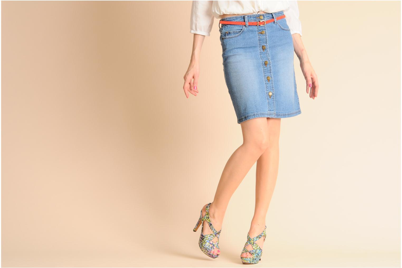 Sandales et nu-pieds Georgia Rose Christie Multicolore vue bas / vue portée sac