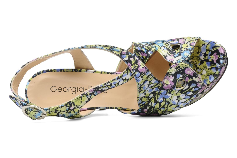Sandales et nu-pieds Georgia Rose Christie Multicolore vue gauche