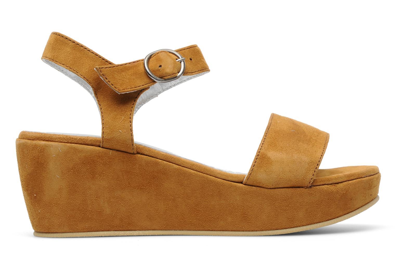 Sandales et nu-pieds M PAR M Derme Marron vue derrière