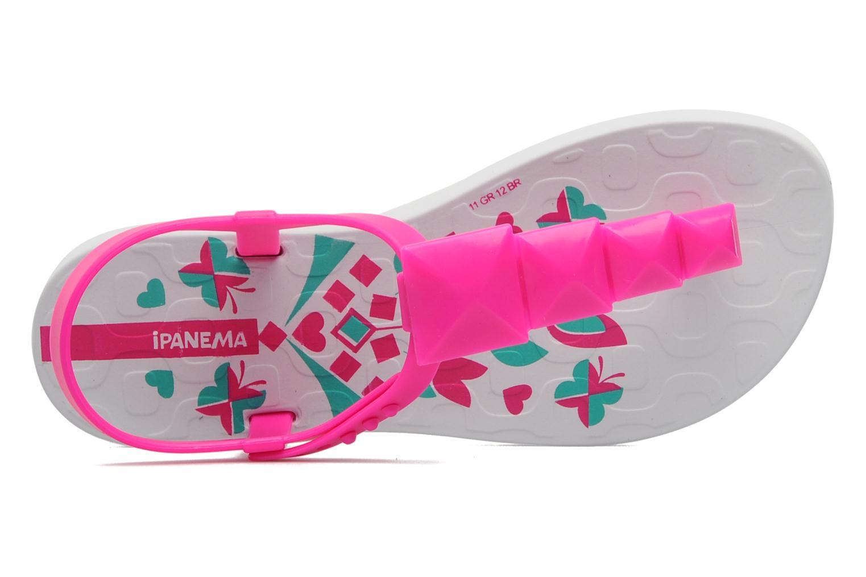 Zehensandalen Ipanema Charm Sandal Kids rosa ansicht von links