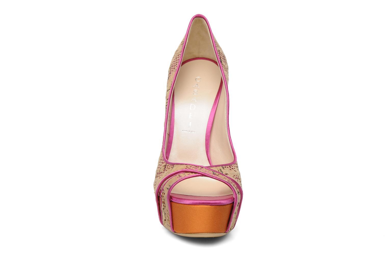 Escarpins Casadei Cabiria Multicolore vue portées chaussures