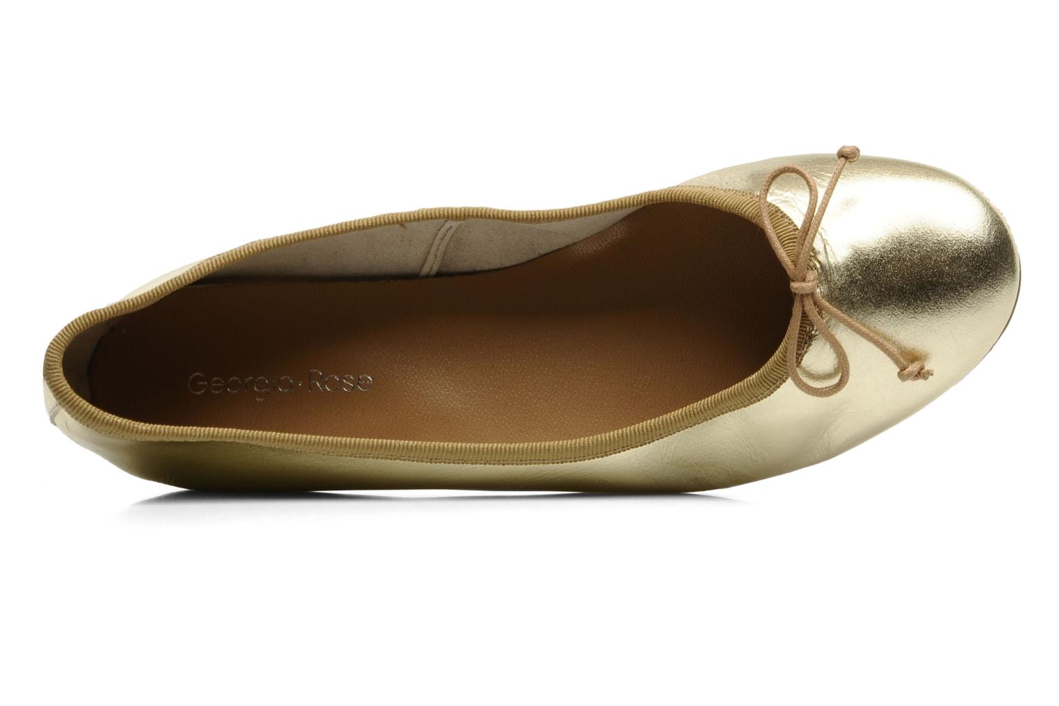 Ballerinas Georgia Rose Fancine gold/bronze ansicht von links