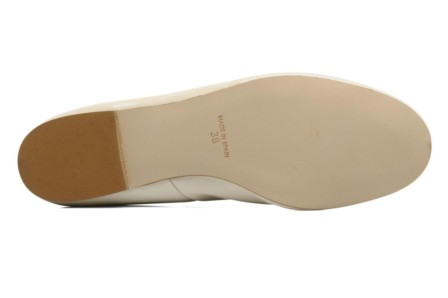 Ballerines Georgia Rose Fancine Beige vue haut