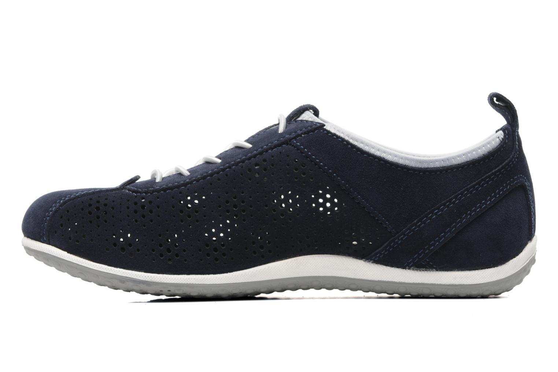 Sneakers Geox D VEGA A Blauw voorkant