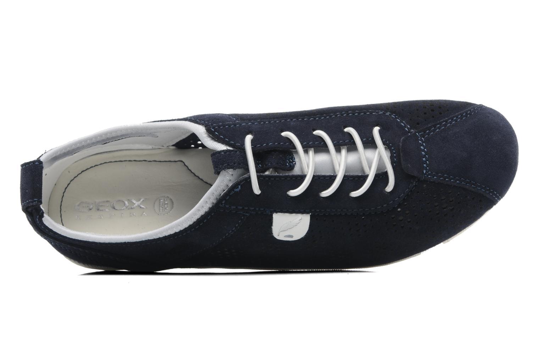 Sneakers Geox D VEGA A Blauw links