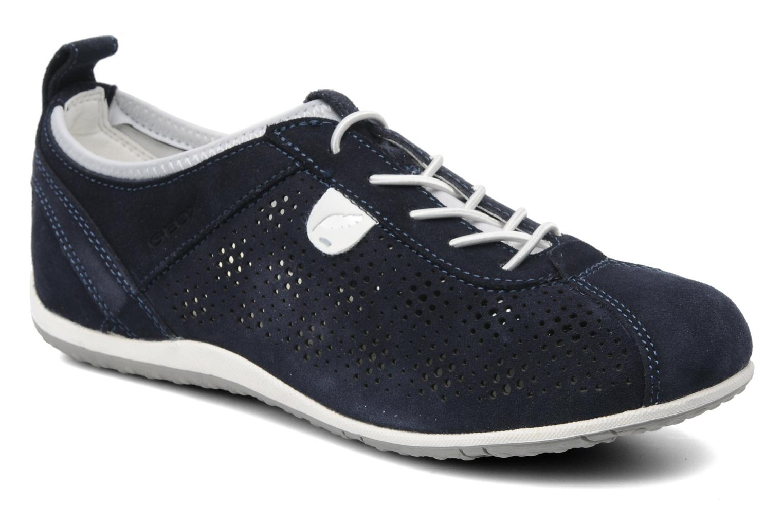 Sneakers Geox D VEGA A Blauw detail