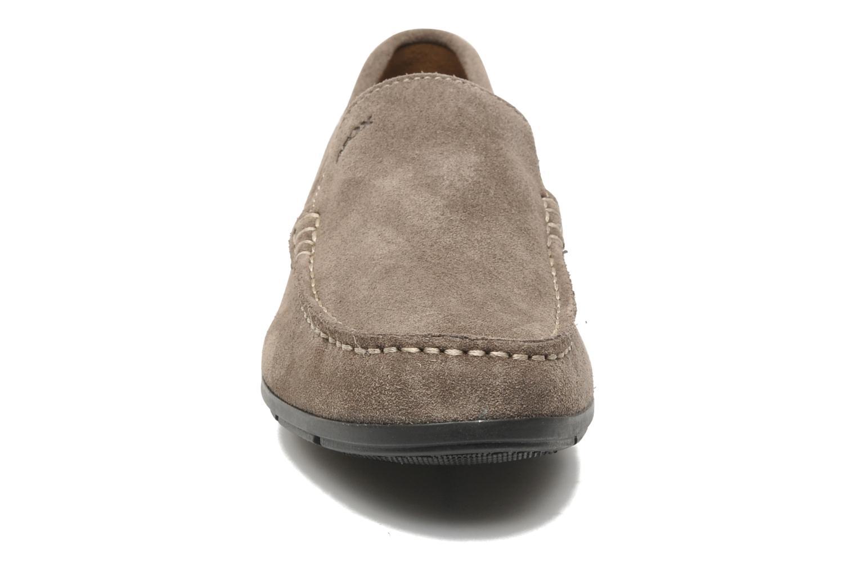 Mocassins Geox U SIMON A U32Q3A Gris vue portées chaussures