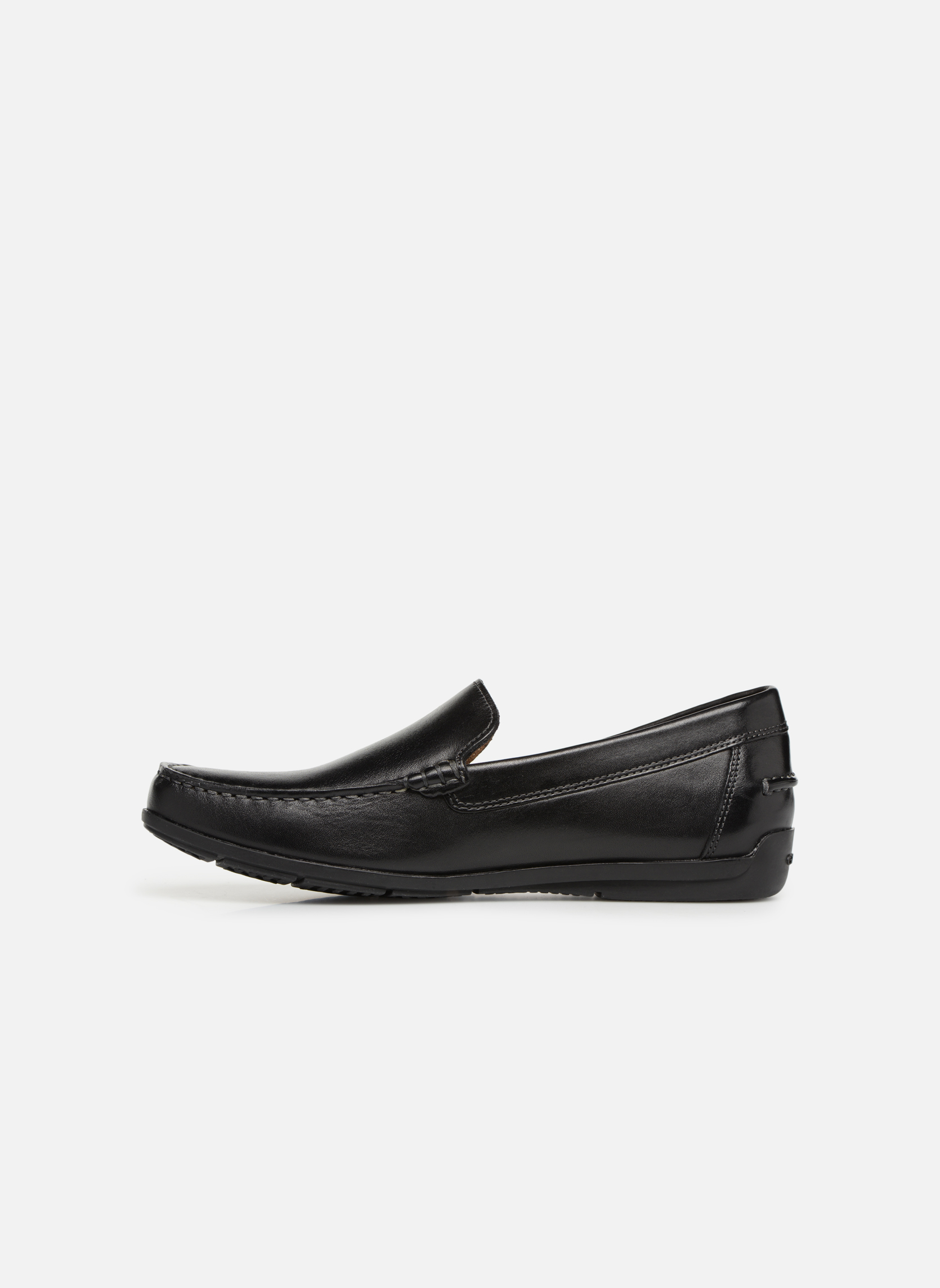 Loafers Geox U SIMON A U32Q3A Black front view