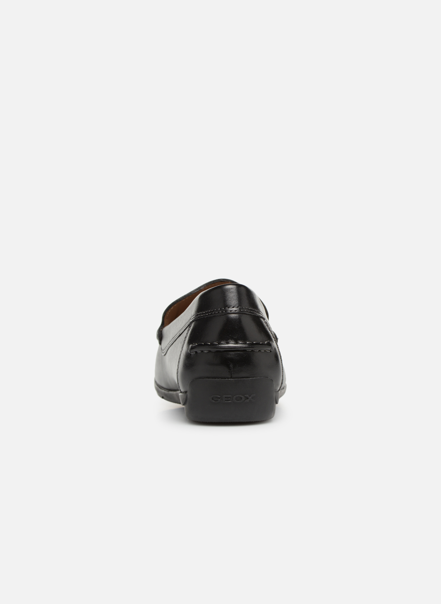 Loafers Geox U SIMON A U32Q3A Black view from the right