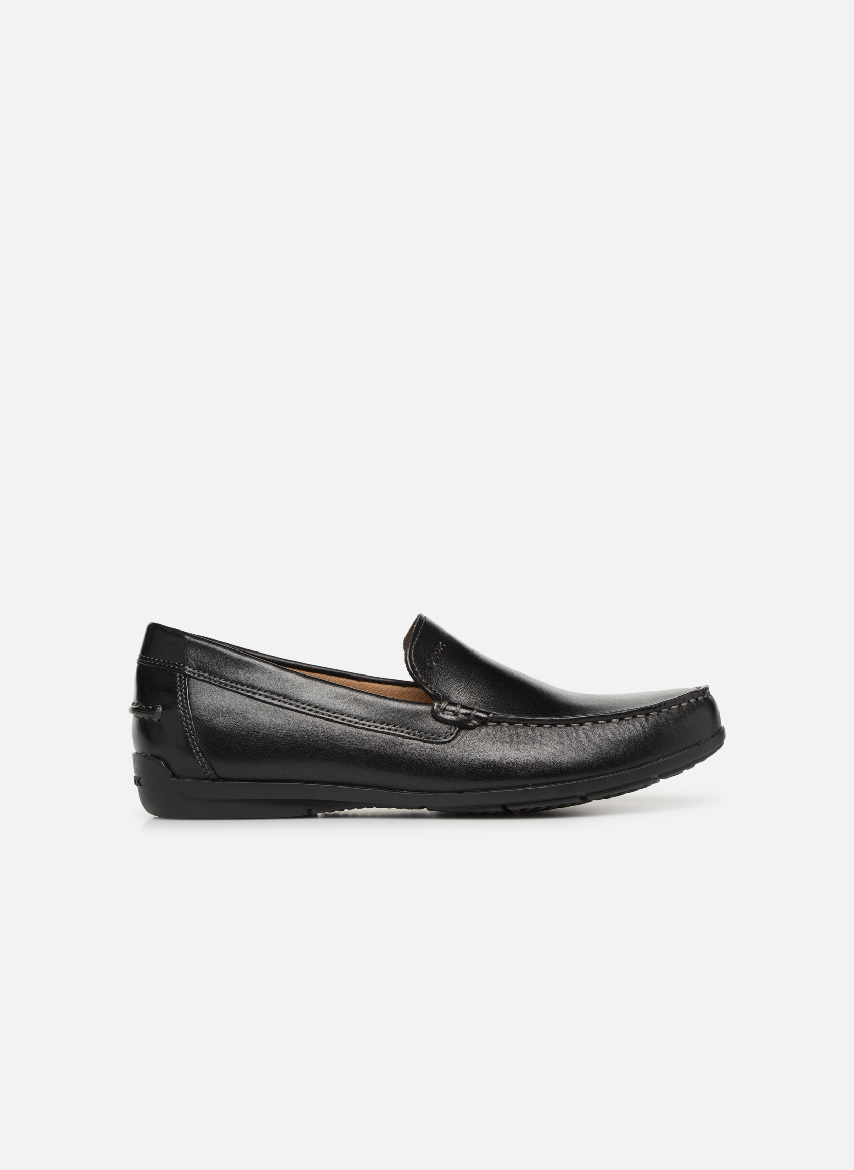 Loafers Geox U SIMON A U32Q3A Black back view