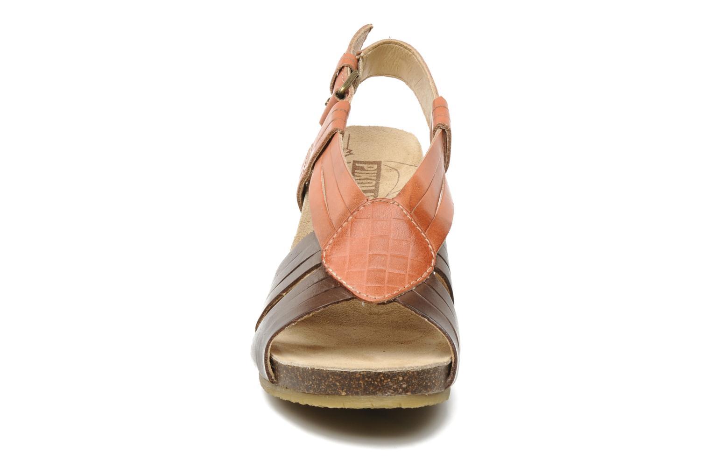 Sandales et nu-pieds Pikolinos Benissa 9320 Orange vue portées chaussures