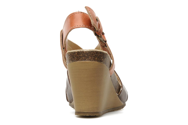 Sandales et nu-pieds Pikolinos Benissa 9320 Orange vue droite