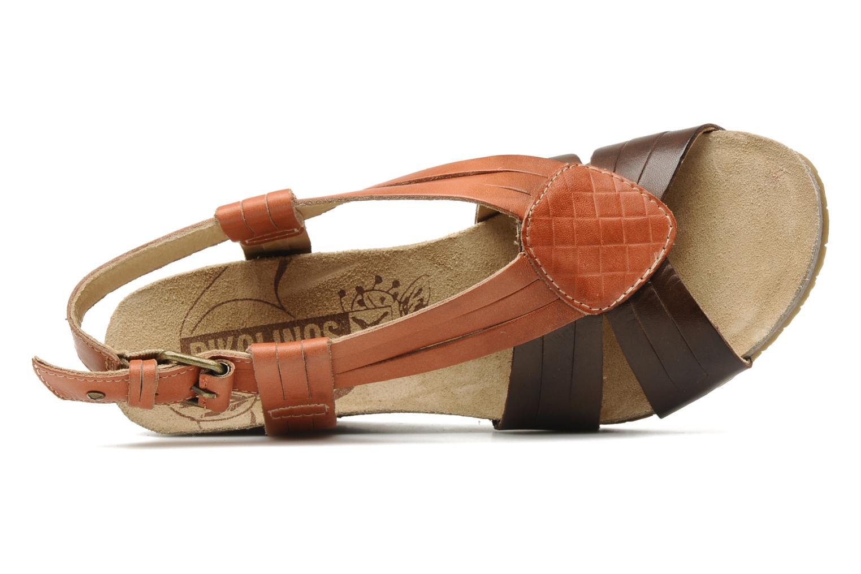 Sandales et nu-pieds Pikolinos Benissa 9320 Orange vue gauche