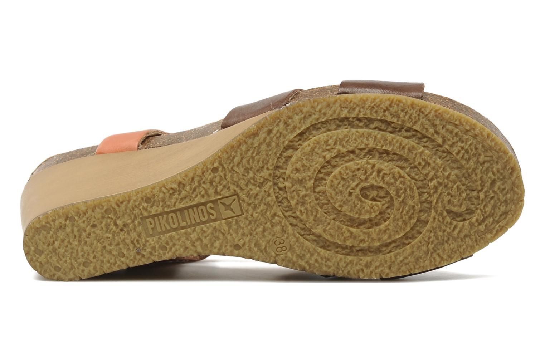 Sandales et nu-pieds Pikolinos Benissa 9320 Orange vue haut