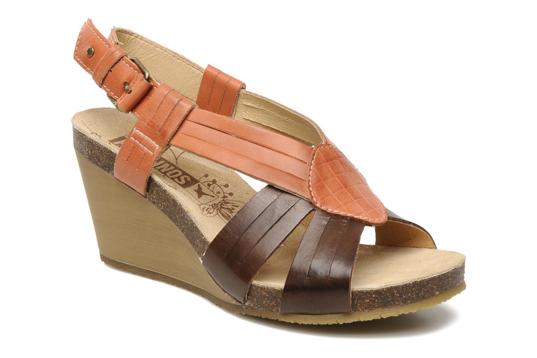 Sandales et nu-pieds Pikolinos Benissa 9320 Orange vue détail/paire
