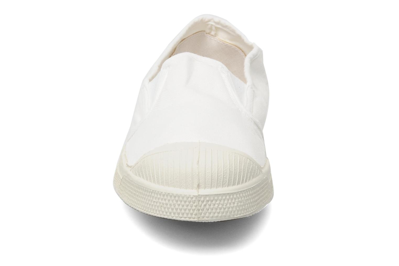 Sneaker Bensimon Tennis Tommy F weiß schuhe getragen