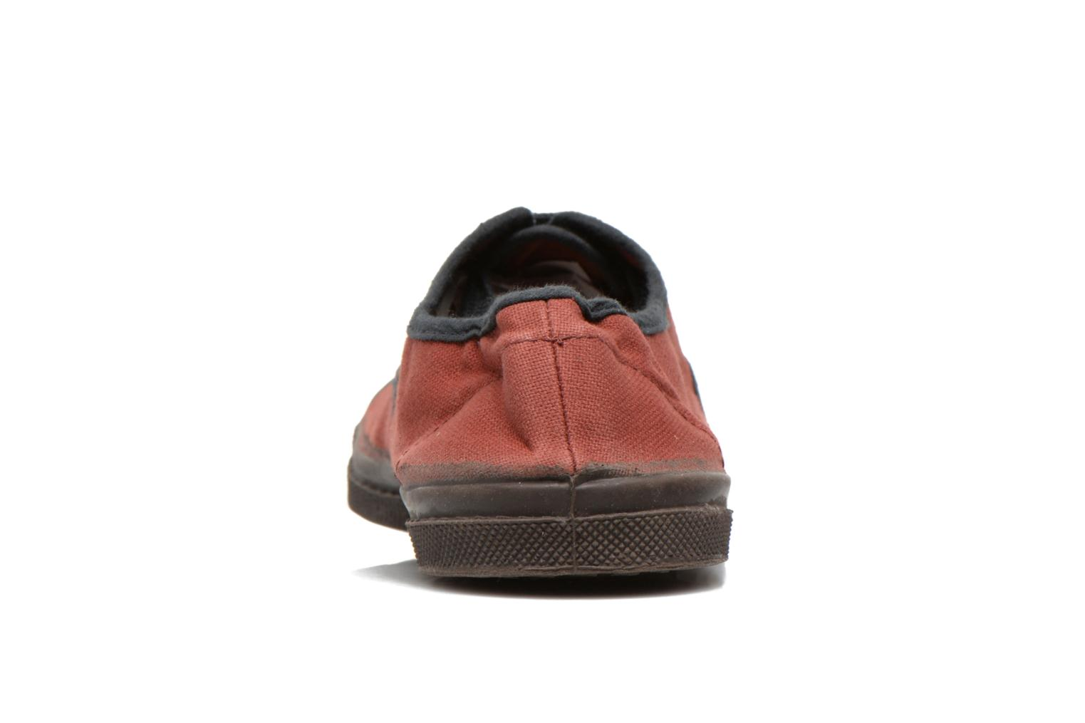Baskets Bensimon Tennis Colorpiping Rouge vue droite