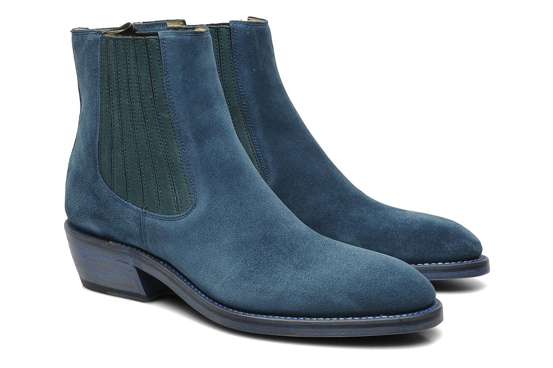 Bottines et boots Free Lance Iona 4 jodpur Bleu vue 3/4