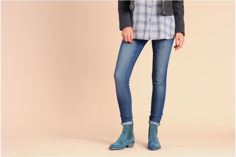Bottines et boots Free Lance Iona 4 jodpur Bleu vue bas / vue portée sac