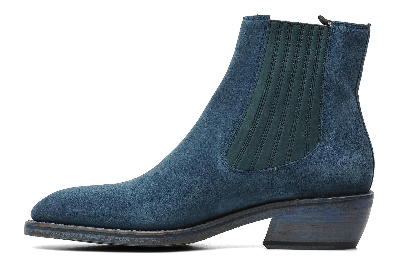 Bottines et boots Free Lance Iona 4 jodpur Bleu vue face