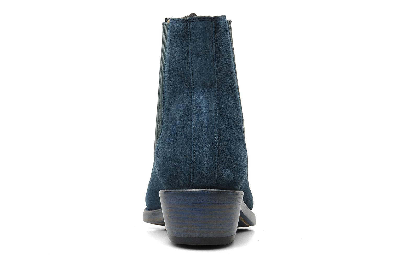 Bottines et boots Free Lance Iona 4 jodpur Bleu vue droite