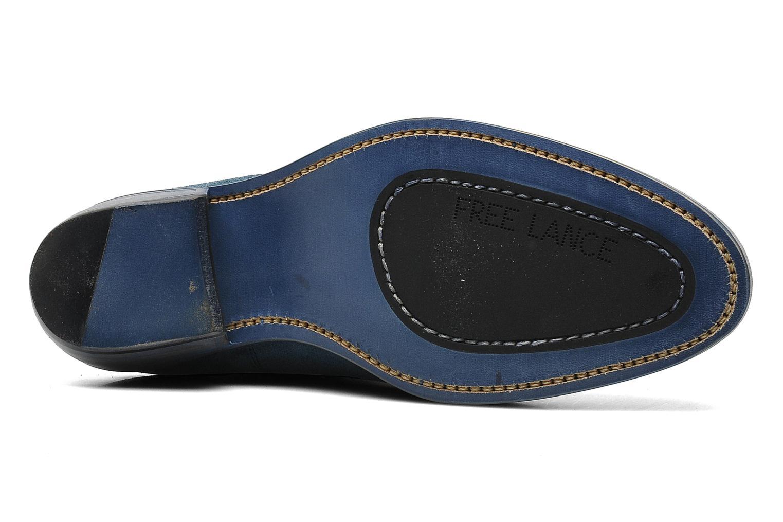 Bottines et boots Free Lance Iona 4 jodpur Bleu vue haut