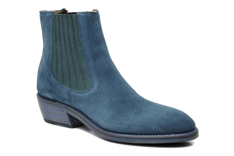 Bottines et boots Free Lance Iona 4 jodpur Bleu vue détail/paire