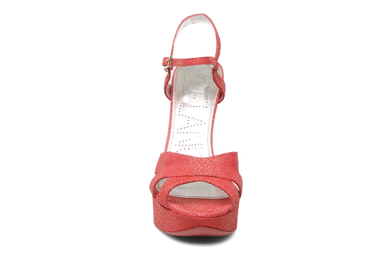 Sandalen Free Lance Emely 7 sandal rosa schuhe getragen