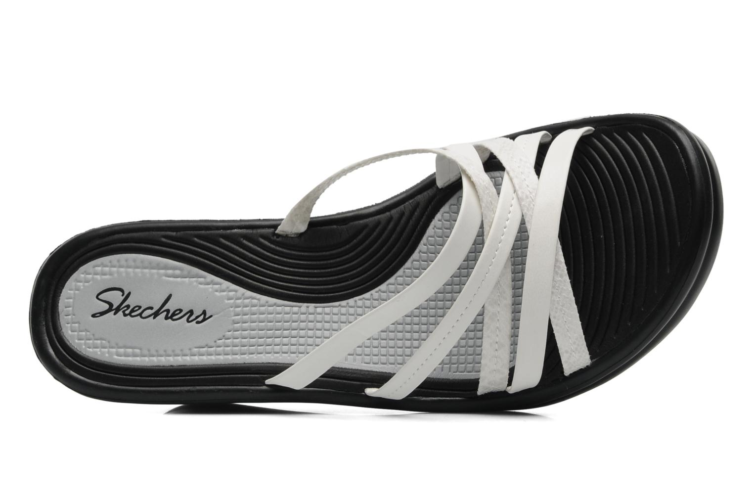 Wedges Skechers Tangled 38100 Wit links