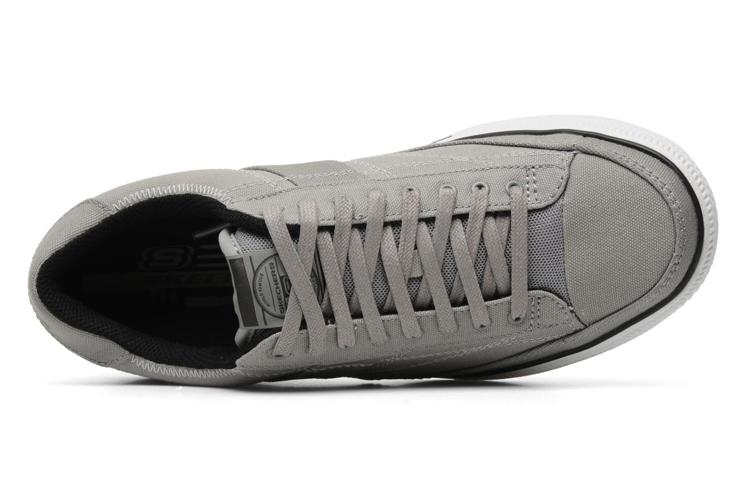 Baskets Skechers Chat 51033 Gris vue gauche